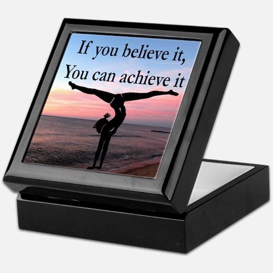 GYMNAST INSPIRATION Keepsake Box