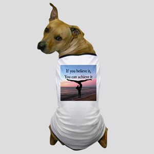 GYMNAST INSPIRATION Dog T-Shirt