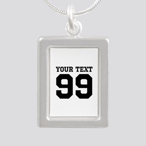 Custom Sports Team Jersey Number Necklaces