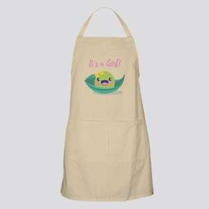It's a Girl Baby Shower Pea in a Pod Apron
