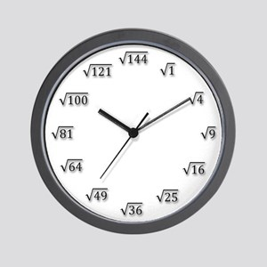Square Root Clock