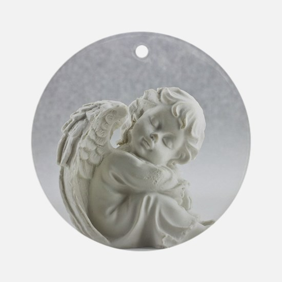 snow angel Ornament (Round)