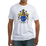Scheler Family Crest  Fitted T-Shirt