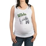 Born To Breastfeed Elephant Maternity Tank Top