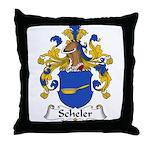 Scheler Family Crest  Throw Pillow