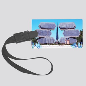 Yad Vashem,Holocaust Memorial fo Large Luggage Tag