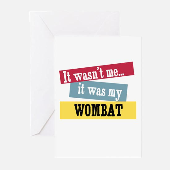 Wombat Greeting Cards (Pk of 10)