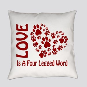 LoveIsRed2 Everyday Pillow