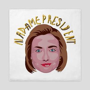 Hillary Clinton Queen Duvet