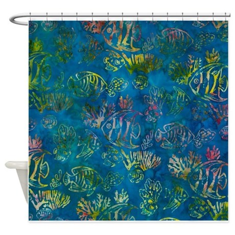 fish shower curtain fish print shower curtain by simpleshopping 28792