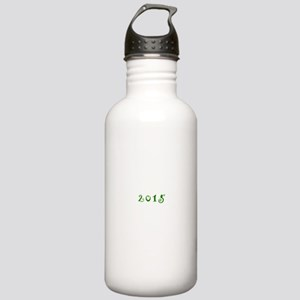 2015 Curl Green Water Bottle