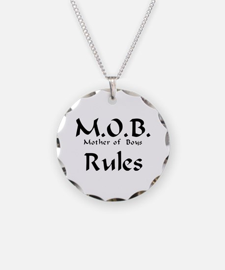 MOB Rules Necklace