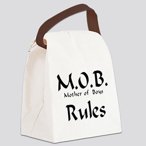 MOB Rules Canvas Lunch Bag