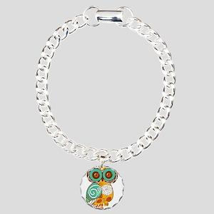 Who Me Owl Charm Bracelet, One Charm