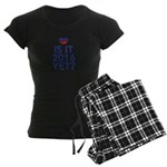 2016 heart Women's Dark Pajamas