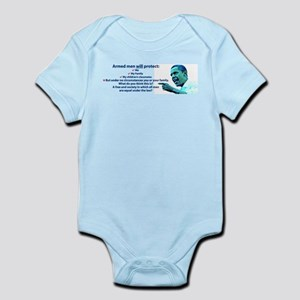 Armed men Infant Bodysuit