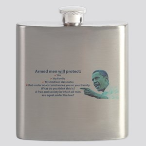 Armed men Flask