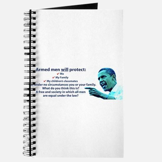 Armed men Journal