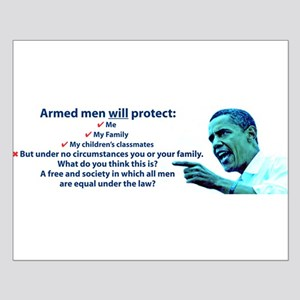 Armed men Small Poster