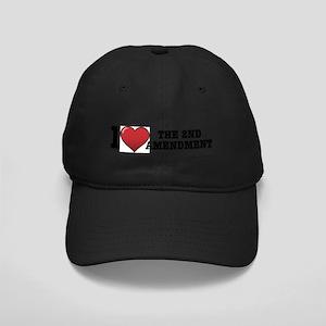 2nd amendment Black Cap
