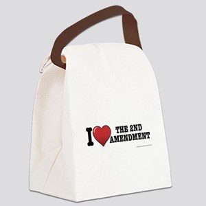 2nd amendment Canvas Lunch Bag