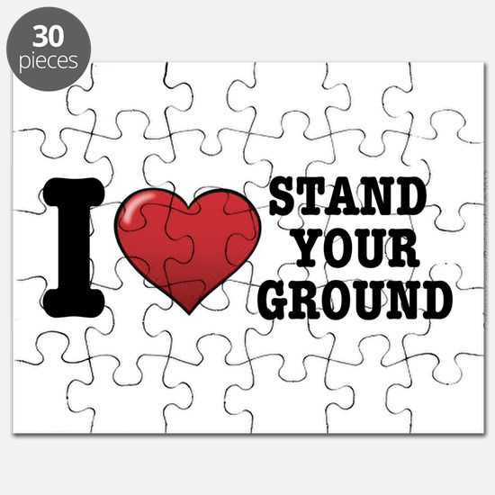 I love Stand Your Ground Puzzle