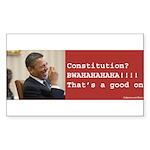 Constitution Sticker (Rectangle)