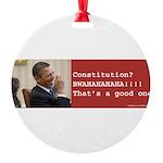 Constitution Round Ornament