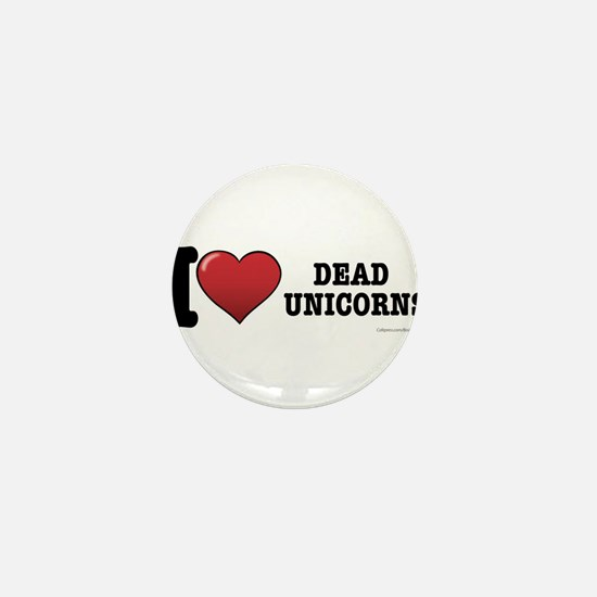 Dead Unicorns Mini Button