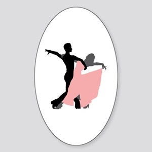 Dancing Sticker (Oval)