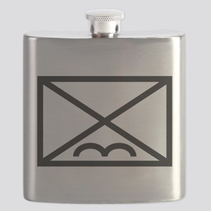 Airborne Infantry Map Symbol Flask