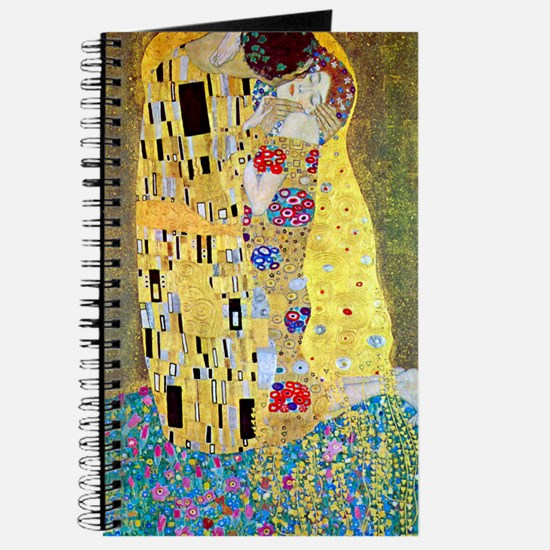 The Kiss by Gustav Klimt, Vintage Art Nouv Journal