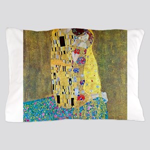 The Kiss by Gustav Klimt, Vintage Art Pillow Case