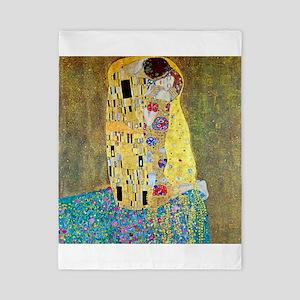 The Kiss by Gustav Klimt, Vintage Art N Twin Duvet
