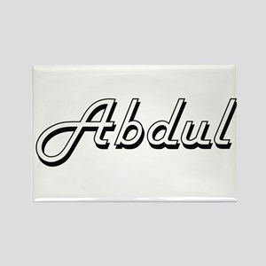 Abdul Classic Style Name Magnets