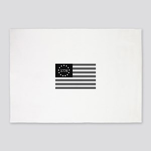 USA Flag 1776 5'x7'Area Rug