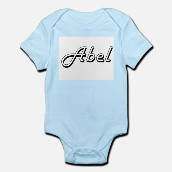 Abel Classic Style Name Body Suit
