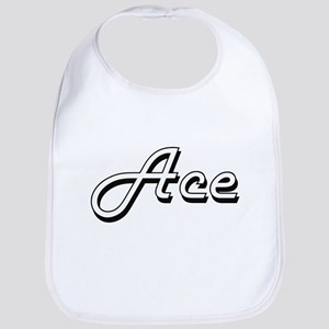 Ace Classic Style Name Bib