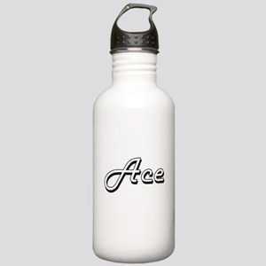 Ace Classic Style Name Stainless Water Bottle 1.0L
