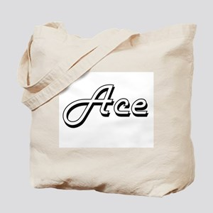 Ace Classic Style Name Tote Bag
