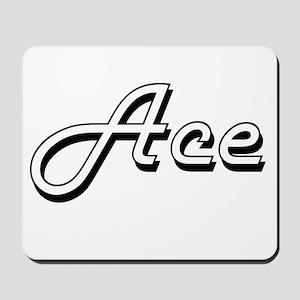 Ace Classic Style Name Mousepad