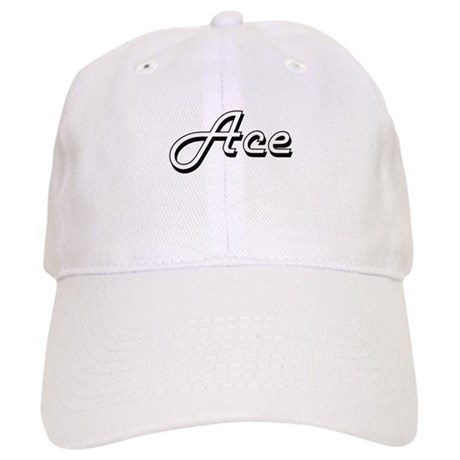 5b795289a7e Ace Classic Style Name Baseball Cap by Admin CP10501932