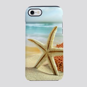 Starfish on Beach iPhone 7 Tough Case
