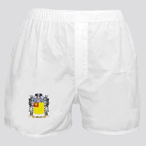 Billo Coat of Arms - Family Crest Boxer Shorts