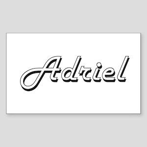 Adriel Classic Style Name Sticker