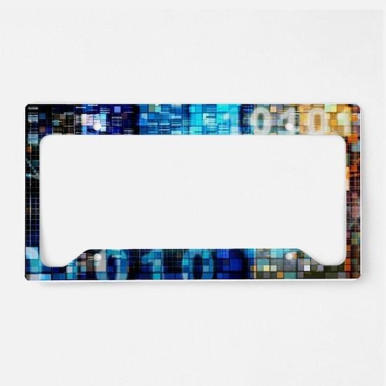 Digital Image Background License Plate Holder