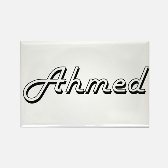 Ahmed Classic Style Name Magnets