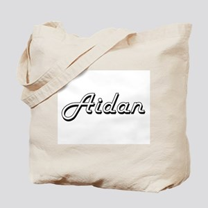 Aidan Classic Style Name Tote Bag