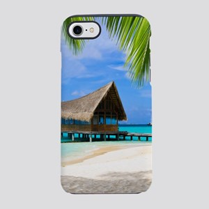 Beach And Bungalow iPhone 7 Tough Case