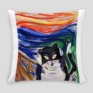 Kitty Scream Everyday Pillow